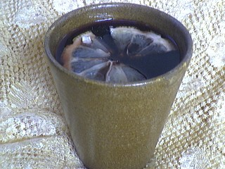Image : Verre de vin chaud aux épices