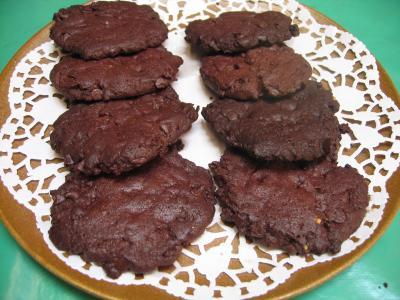 Recette Assiette de cookies au chocolat et pépites