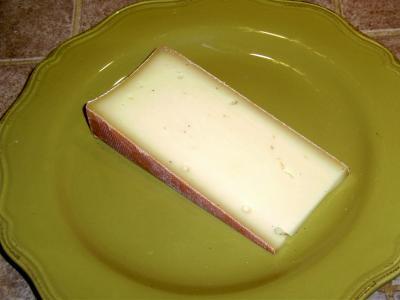 Image : Abondance - Tranche de fromage Abondance