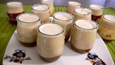 yaourtière : Pots de yaourts aux carambars et au caramel