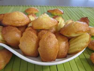 Image : Cuisine lorraine - Madeleines de Commercy