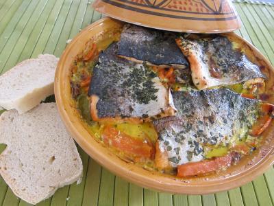 Image : Cuisine marocaine - Tagine de truite aux carottes
