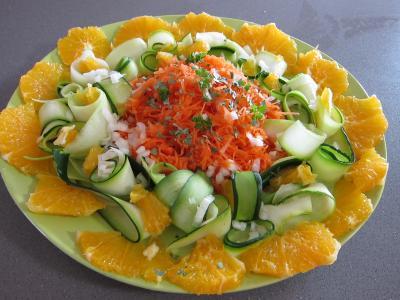 orange salade