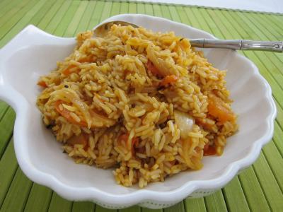Recette Un plat de risotto