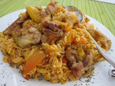 Image : Risotto - Risotto au poulet
