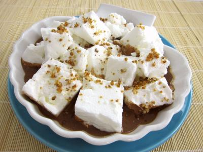 Image : recette le flottante au chocolat