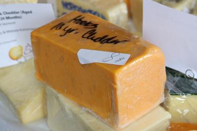 Photo : Fromage cheddar