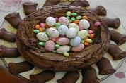 Image : Pâtisserie - Nid de Pâques