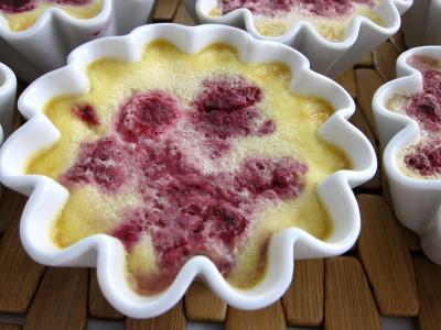 Image : recette Crème facile aux framboises