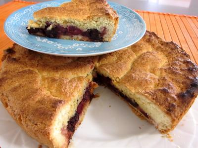 Image : Griotte - Un gâteau basque