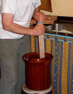 Préparation du chou de la choucroute - 6.1