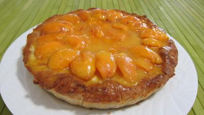Amaretti : Assiette de croustade aux abricots