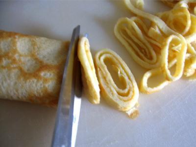 Crème de poireau aux crêpes - 9.3