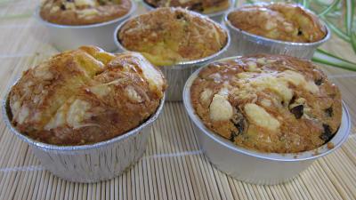 timbales : Timbales au camembert